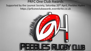 Peebles Rugby and Laureate Society One Club Awards