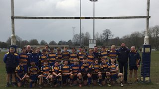 Saxons Win U14 Hampshire County Plate Competition!