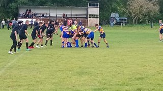 Saxons Struggle Against Andover Attack