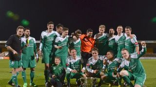 Cambs Invitation Cup Final 2014 - Soham Town Rangers 6 CRC 1 (Photographs copyright Jake Whiteley)