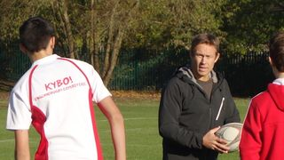 Nelson Tobin meets Jonny Wilkinson
