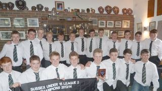 U15 Sussex League 2 Champions Presentation