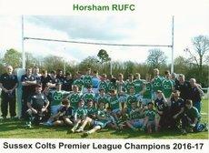 Horsham Colts Remain Unbeaten to Secure League Title