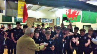 Club Legend Presents Sussex Premier League Winners Shield at Colts Awards Night