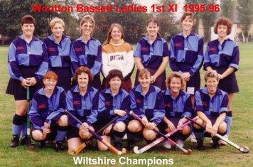 Ladies 1st XI 1995-96