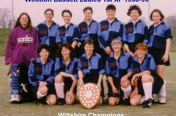 Ladies 1st XI 1998-99