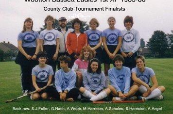 Ladies 1st XI 1985-86
