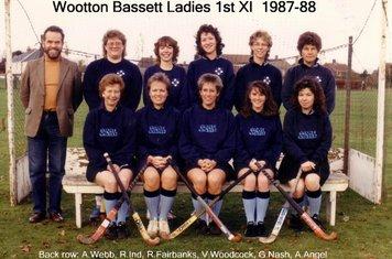 Ladies 1st XI 1987-88