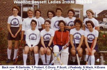 Ladies 2nd XI 1983-84