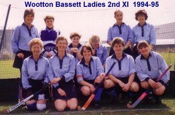 Ladies 2nd XI 1994-95