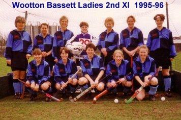 Ladies 2nd XI 1995-96