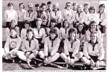 Ladies players XI 1986-87