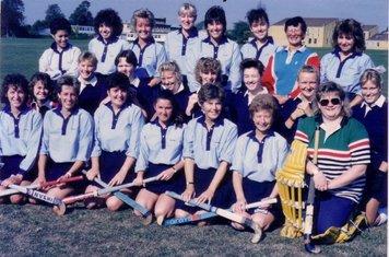 Ladies team 1989-90
