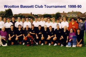Ladies players 1998-99