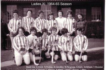 Ladies 1st XI 1964-65