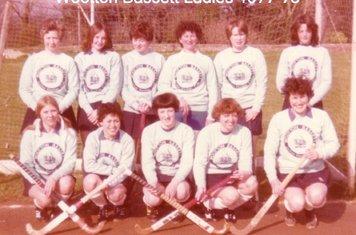 Ladies 1st XI 1977-78