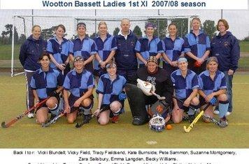 Ladies 1st XI 2007-08