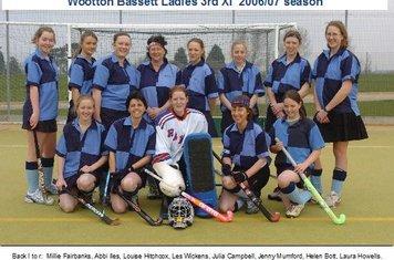 Ladies 3rd XI 2006-07