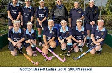 Ladies 3rd XI 2008-09