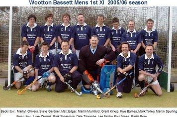 Mens 1st XI 2005-06