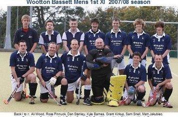 Mens 1st XI 2007-08