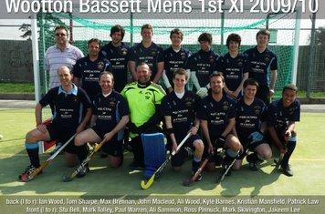 Mens 1st XI 2009-10