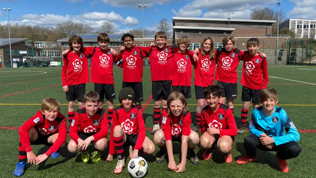 Mid Sussex Youth Football League - U12 League Plate Final  - Victory & Photos