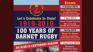 Sporting History for Barnet Rugby