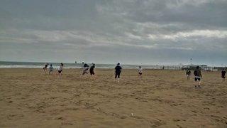 Beach Training in Italy