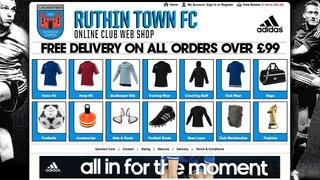 Ruthin Town FC Club Shop: http://www.clubwebshop.com/ruthintownfc