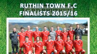 RUTHIN TOWN FOOTBALL CLUB - FINALISTS 2015/16