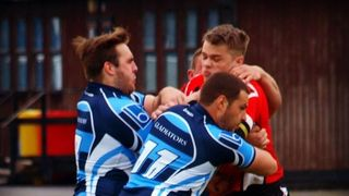 First team versus Cadishead Rhinos