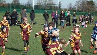 Chester Gladiators U8s v Wigan St Judes Golds