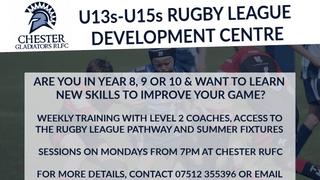 Coaching for U13s-U15s