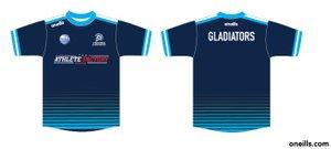 Gladiators training t-shirt orders