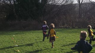 Exmouth U8's v Okehampton away 15/1/12