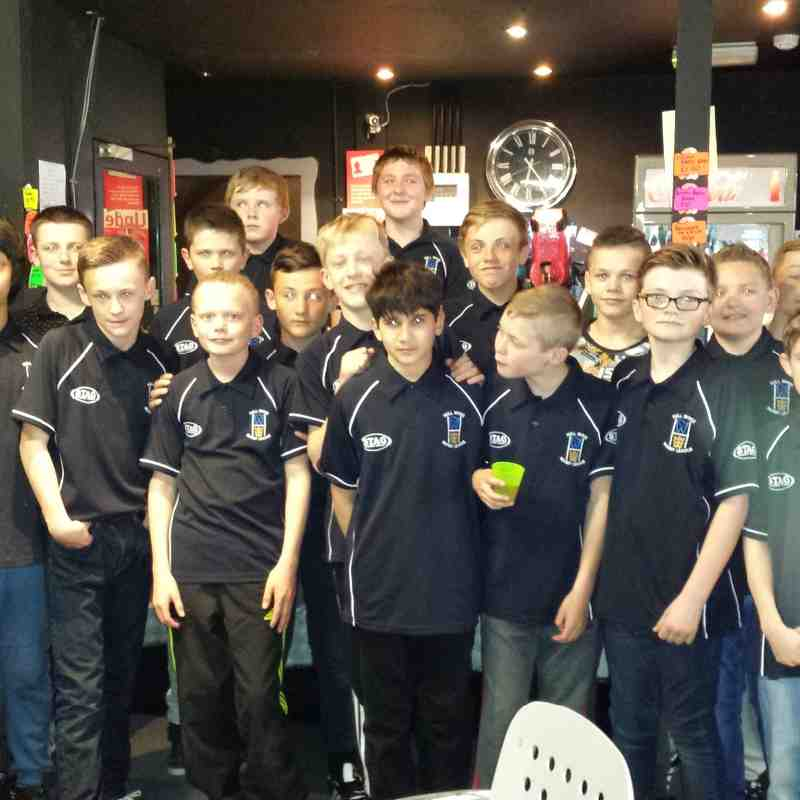 Hull Wyke 13's at Laser Quest April 2015