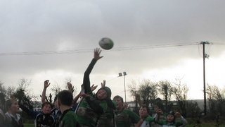 Omagh U13 at inishowen 21 January 2012, 20-20 draw