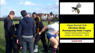 [4] Christian Wade Premiership Minis Trophy [FOUR] 2 FEB 14
