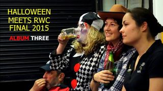 Halloween meets RWC Final THREE - November 2015