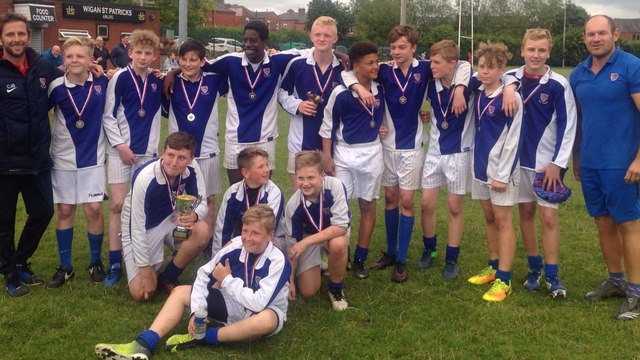 CONGRATULATIONS TO DEANERY - Y7 & Y8 PLATE WINNERS