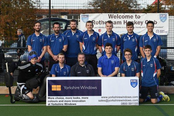 Men's 1st team - Yorkshire Windows