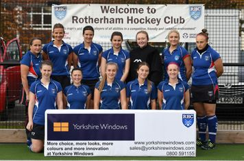 Ladies 1st team - Yorkshire Windows