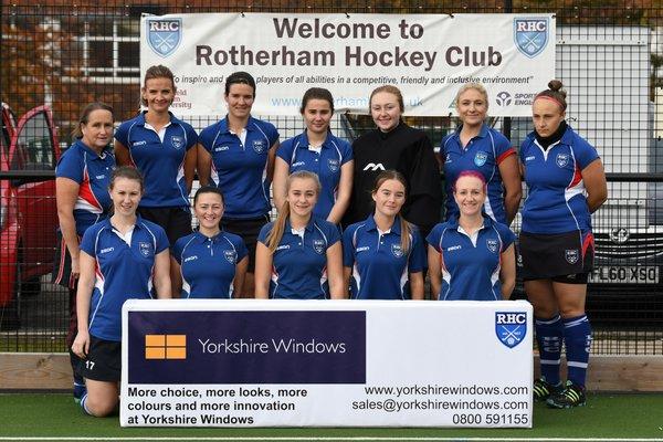 Ladies 1st team - Yorkshire Windows