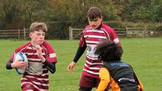Caldy v Wirral U16's 14/10/18