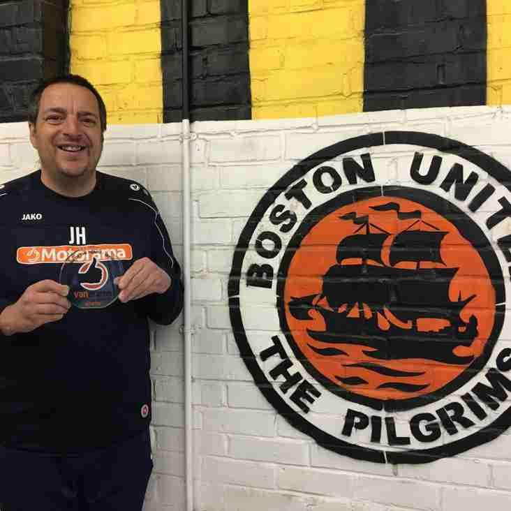 Volunteer of the Month Recognition for Boston's Ace Jase