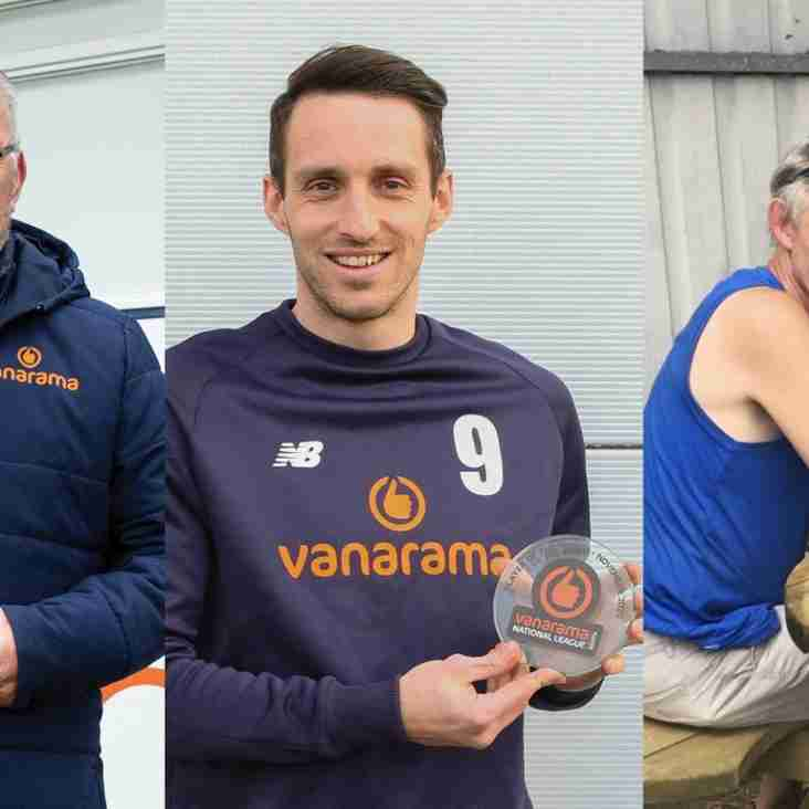 November's National League South Monthly Award Winners Confirmed!