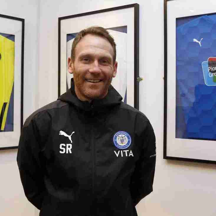Rusk Makes Stockport Arrival As County Announce New Boss