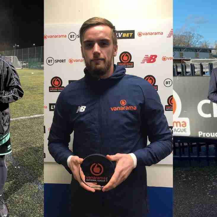 Trio Celebrate January's National League South Accolades