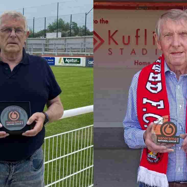 Dedicated Duo Are May's Volunteer of the Month Winners!